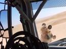 VIDEO: Tartu rallijā GAZ automašīna uzmet kūleni