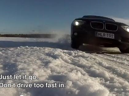 VIDEO: Somu rallija leģendas jautrā noskaņojumā testē BMW