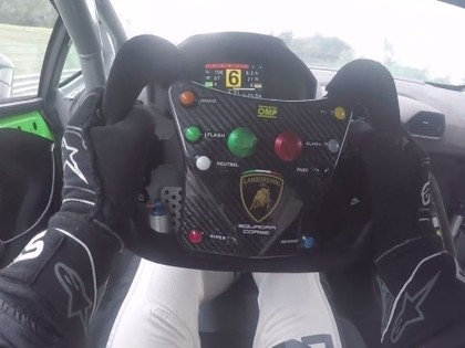 VIDEO: Nitišs aizvada testus ar 620 Zs jaudīgo 'Lamborghini'