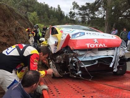 VIDEO: Seska sīvākais konkurents piedzīvo smagu avāriju