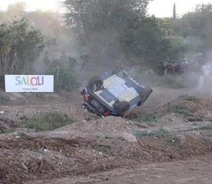 VIDEO: Noivils Spānijas WRC treniņos piedzīvo avāriju