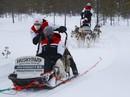 FOTO: Sportisti pirms Lapzemes WRC starta bauda ziemas priekus