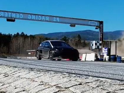 VIDEO: Jānis Baumanis aizvada pirmos testus ar 'Ford Fiesta MK8'