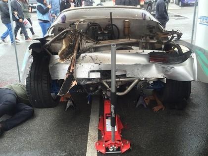 VIDEO: Formula Drift treniņā neskaitāmas avārijas un sagriešanās