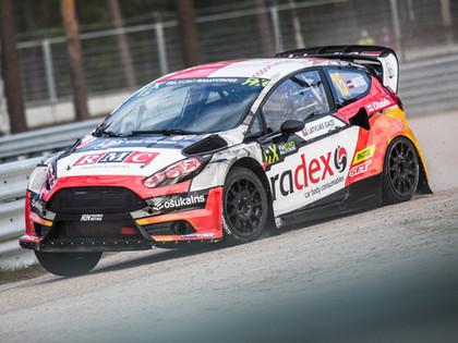 VIDEO: Nitišs Eiropas RX sezonu noslēdz ar skaistu uzvaru 'Neste World RX of Latvia' posmā