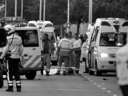 Traģiski noslēdzas sacensības Amsterdamā