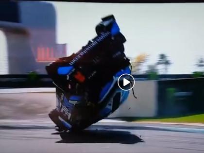 VIDEO: Baumanis jauno RX sezonu sāk ar piekto vietu, angļu sportists uzmet kūleni