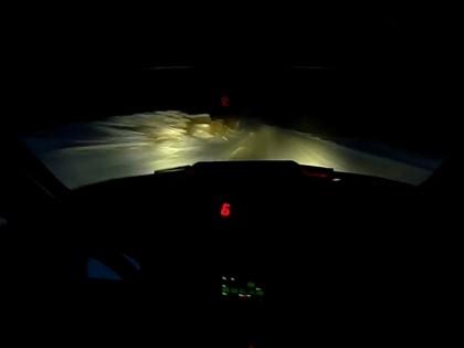 VIDEO: Samsonas Alūknses rallija testos tumsā ar 'BMW M3X' attīsta iespaidīgu ātrumu