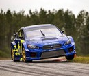 FOTO: 'Subaru Motorsports' komanda atrāda jauno 'Subaru' rallijkrosa auto