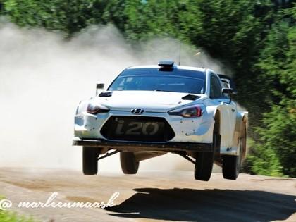 VIDEO: Hyundai rūpnīcas komandas braucēji aizvada testus Igaunijā