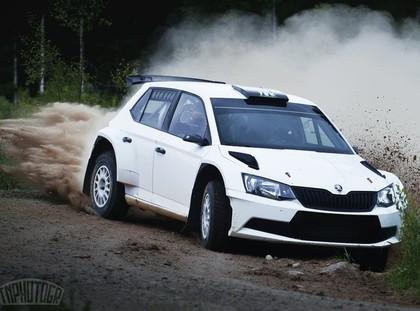 VIDEO: Rovanpera testos demonstrē lielisku ātrumu ar 'Škoda Fabia R5'
