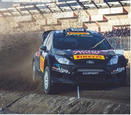 VIDEO: Rovanpera debijas reizē ar 'Ford Fiesta RS WRC' demonstrē lielisku sniegumu