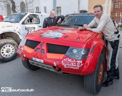 VIDEO: Veiksmīgi rallijreidu Astrahaņā sākusi 'Re Autoclub' komanda