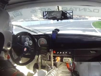 VIDEO: Matvejevam sacensību laikā Volgai nolūzt ātruma pārslēgs