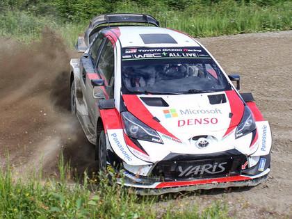 VIDEO: 'Toyota' braucēji gatavojas Somijas WRC rallijam