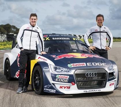 VIDEO, FOTO: 'EKS Audi Sport' oficiāli prezentē jauno rallijkrosa automašīnu