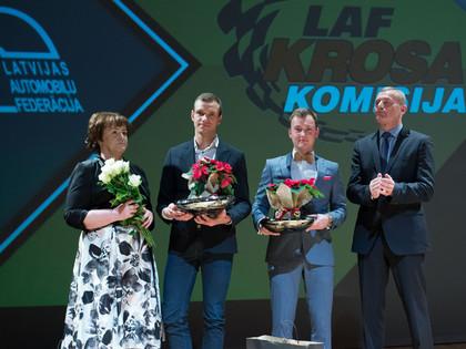 Apbalvoti LAF krosa komisijas gada labākie autosportisti
