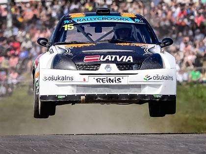Trauberga komanda rallijkrosa kausā 333 trasē startēs ar Nitiša čempiona auto (FOTO)
