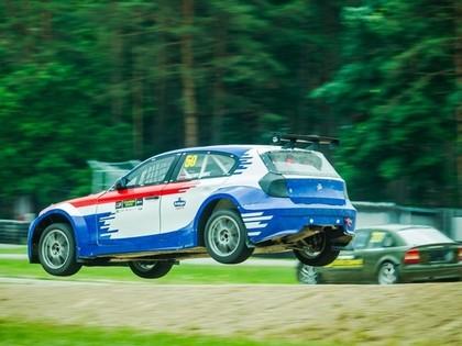Kristaps Grunte aizcīnās līdz pjedestālam rallijkrosa sacensībās Igaunijā
