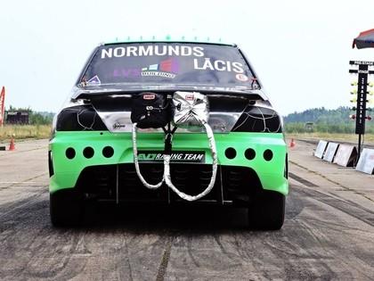 Normunds Lācis Lietuvā labo personīgo ātruma rekordu - 284 km/h (VIDEO)