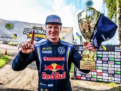 Kristofersons izcīna vēl vienu uzvaru 'RallyX Nordic' sacensībās