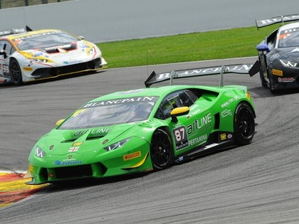 Šlēgelmilhs Lamborghini Eiropas čempionāta 1.posma pirmajā braucienā izcīna 3.vietu