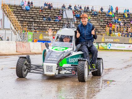 Nitišs un Baldiņš startēs 'RallyX Nordic' čempionāta 1.posmā