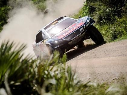Dakaras rallija trešajā posmā atkal ātrākais Lēbs