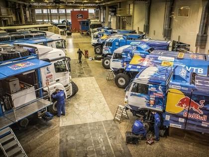 Dakaras rallijā Kamaz komandā par loģistiku rūpēsies Māris Saukāns