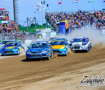 Eiropas autokrosa čempionāta posmā Mūsā startēs septiņi sportisti no Latvijas