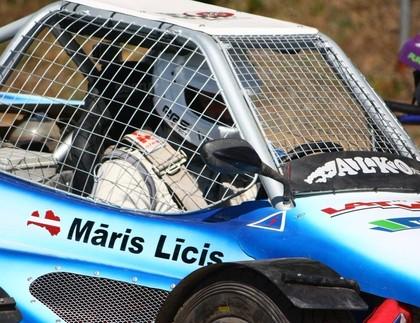 Eiropas autokrosa čempionāta 1.posmam pieteikušies pieci latviešu braucēji