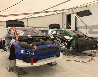 Baumaņa automašīnai pirms 'Latvia RX' posma sagaidāmi uzlabojumi