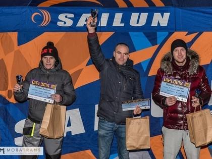 Rīgas Ziemas kausa ledus cīņās triumfē Dimiņš ar 'Audi 80'