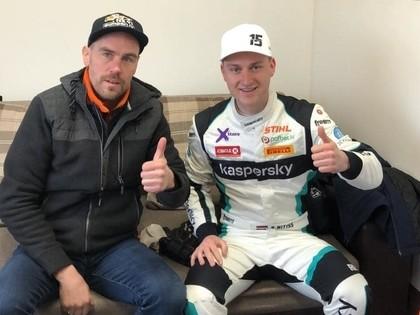 Pēc diviem 'RallyX Nordic' posmiem Nitišs devītais, Baldiņš 13.vietā