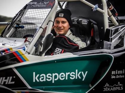 Nitišs un Baldiņš soļa attālumā no iekļūšanas 'RallyX Nordic' 1.posma finālā