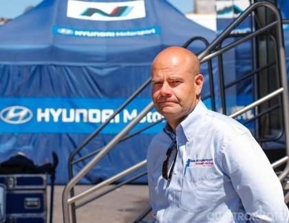 'Hyundai Motorsport' negaidīti paziņo par komandas vadītāja maiņu