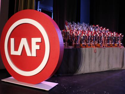 LAF apbalvošanas ceremonijā pasniegtas balvas par 2018.gada sasniegumiem