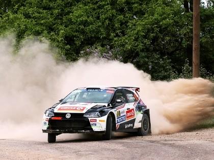 Solbergs ātrākais Rally Liepāja pirmajā dienā, Sesks rāda lielisku sniegumu