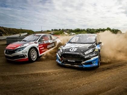 'RallyX Nordic' Latvijas posmā uz starta izies spēcīgi un atpazīstami braucēji