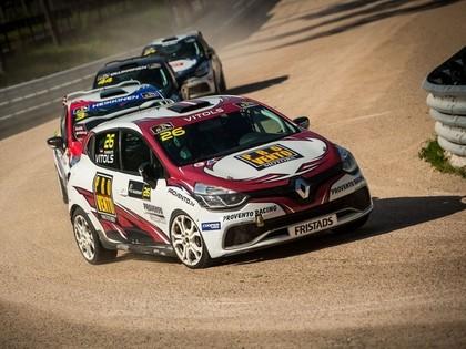 Pēc 'RallyX Nordic' pirmās dienas Vītols 2.vietā