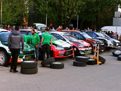 Rally Liepāja norise atlikta uz 14.-16. augustu