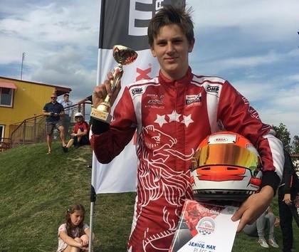Valters Zviedris 'Rotax Nordic Challenge' posmā Polijā izcīna 3. vietu