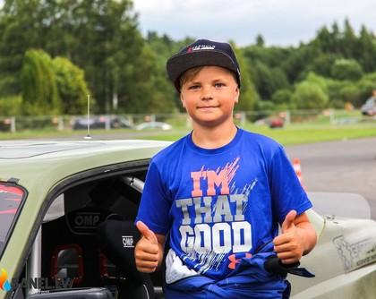 12 gadus vecais drifteris Nikolass Bertāns: Mans sapnis ir startēt 'Formula Drift' (VIDEO)
