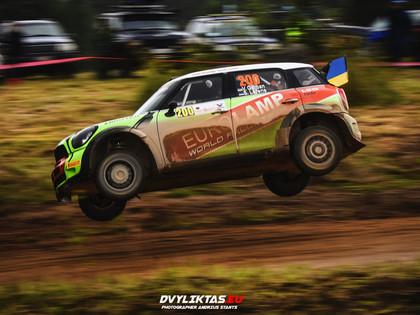 Gorbans savā 200.rallijā izrauj uzvaru 'Samsonas rally Rokiškis'
