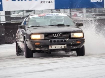 Rīgas Ziemas Kauss startēs 1.decembrī, Audi pilotiem īpaša balva