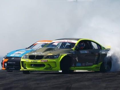 Pēc pieciem 'Formula Drift' posmiem Blušs kopvērtējumā ieņem 7.vietu