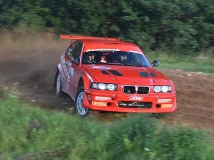 Vorobjovs/Pūķis ar Samonas BMW M3 izcīna 3. vietu rallijsprinta sacensībās Lietuvā