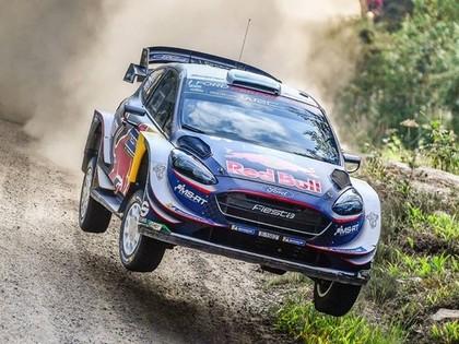 'Rally Estonia' kvalifikācijā ātrākais Evans, Tanaks ceturtais (VIDEO)