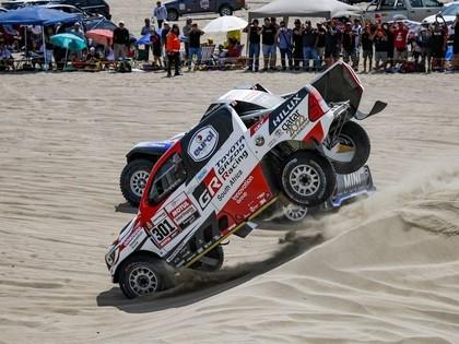 Peteranselam avārija un izstāšanās, Al-Atija tuvu uzvarai Dakaras rallijā