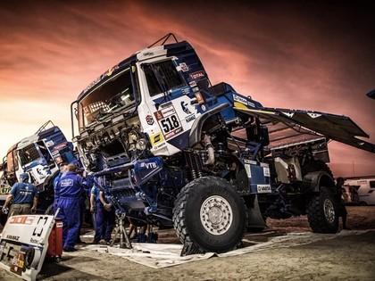 Vēl viena Kamaz ekipāža spiesta izstāties no Dakaras rallija